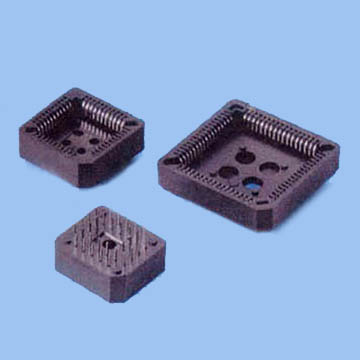 PLCC SOCKET DIP TYPE Pitch:2.54mm PBT and PPS RoHS (11/07)