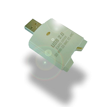 USB 2.0  SD 2.0/MINI-SD/MMC  Plus/RS-MMC  Mobile  Card  Drive - HOMESHUN INTERNATIONAL CO., LTD.