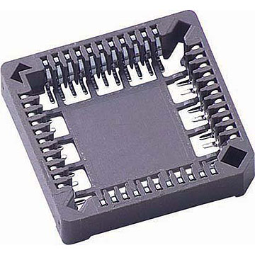 PLCC Socket, SMT Type Height 4.5mm Standard Profile