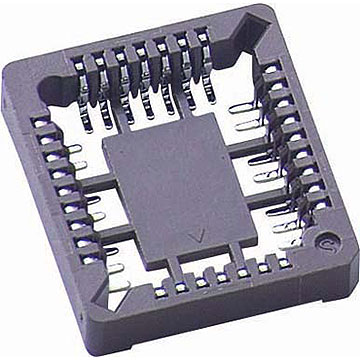 PLCC Socket, SMT Type Height 3.81mm Low Profile